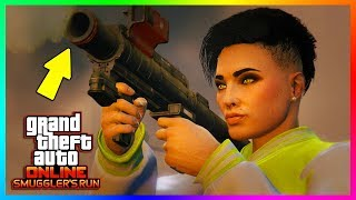 GTA ONLINE SMUGGLER'S RUN DLC NEW FEATURES, UPDATES & CHANGES - THINGS YOU DIDN'T KNOW WERE ADDED!
