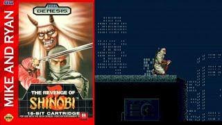 The Revenge of Shinobi (Sega Genesis) Mike & Ryan
