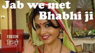 When we met Angoori bhabhi of Bhabi ji ghar par hain (BBC Hindi)