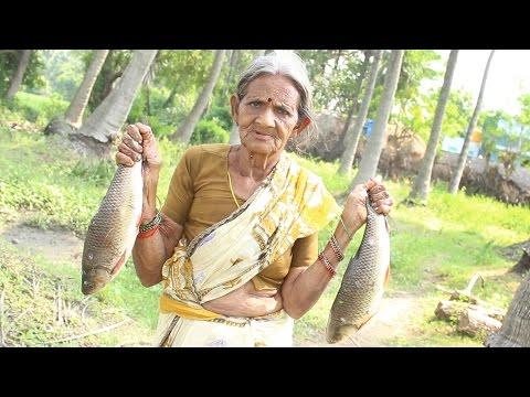 My Grandma's Village Style Yummy Fish Curry || Myna Street Food