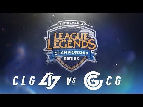 Xxx Mp4 CLG Vs CG Week 6 Day 1 NA LCS Spring Split Counter Logic Gaming Vs Clutch Gaming 2018 3gp Sex