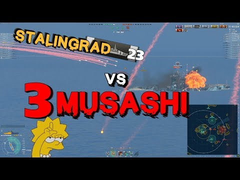 Xxx Mp4 Fight With 3x Musashi And 334k Dmg World Of Warships 3gp Sex