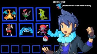 EVERY POEKMON OWNED BY ALAIN (ASH'S KALOS RIVAL)