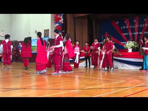 syracuse Karen New Year 2013 dancing by Karenni .by R.T.B.M.K. Group