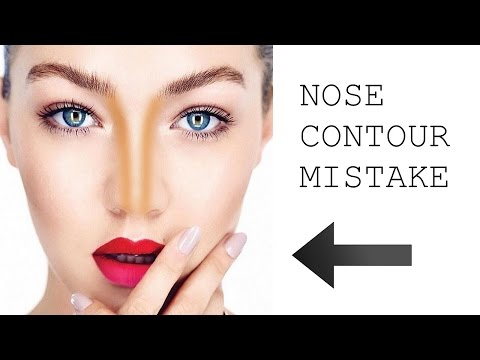 THE BIGGEST NOSE CONTOURING MISTAKE - EVER!