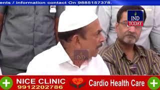 Dy CM Mahmood Ali inspects works for Sunni Dawat E Islami 2days State Sunni Ijtema at Hyderabad