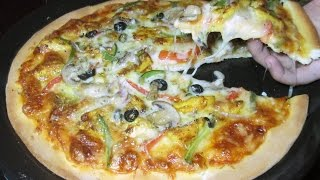 Homemade Pizza Recipe - Chicken Fajita Thin Crust Pizza - Italian Pizza Recipe
