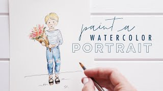 How to Paint People in Watercolor