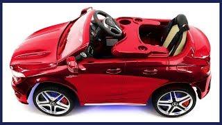 2018 Mercedes Benz CLA 12V Powered Ride On Car For Kids, Kars4kids, Baby Toys