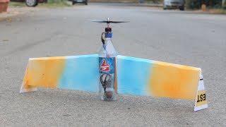 How to make a airplane - bottle aeroplane