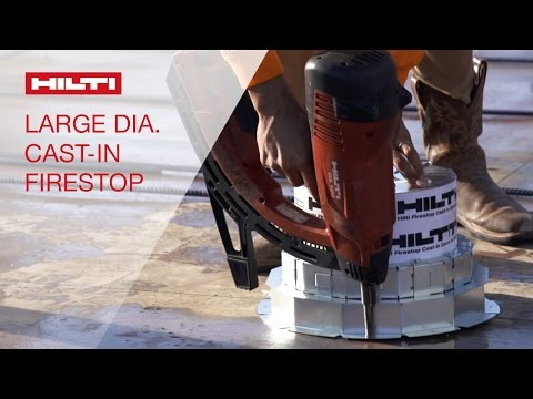 Xxx Mp4 INTRODUCING The Hilti CFS CID P M 8 And 10 Cast In Firestop Devices 3gp Sex