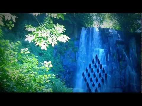 música de relajación bosque cascada naturaleza montañas música relajante y melodiosa