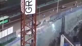 VIDEOS DEL DERRUMBE EN PERIFERICO SUR CONTRUCCION