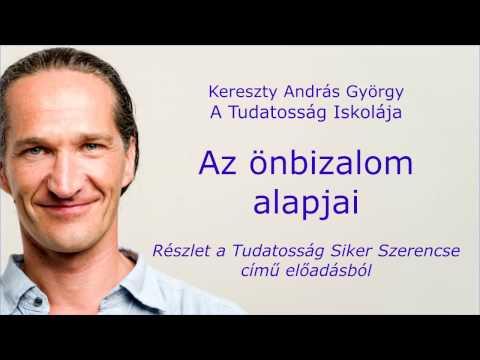 Az önbizalom alapjai - Kereszty András György Tudatosság Siker Szerencse előadás részlet