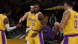 NBA LIVE 19 Utah Jazz vs Los Angeles Lakers | NBA Live 19 Gameplay Xbox One