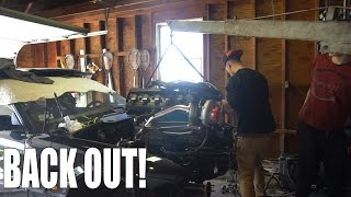 BOOSTED E36 CRACKED OIL PAN!!!