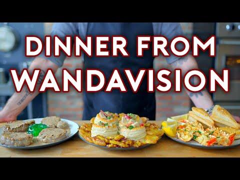 Binging with Babish Dinner from WandaVision
