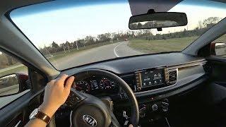 2018 Kia Rio EX Sedan - POV Test Drive (Binaural Audio)