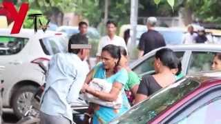 REAL FOOTAGE: Indian Woman fights back on being Harassed!!!