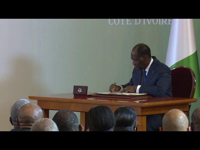 "RCI ""La nouvelle Constitution pour la paix, la stabilité, l'égalité et la modernité"" PR Ouattara"