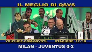 QSVS - I GOL DI MILAN - JUVENTUS 0-2 TELELOMBARDIA/TOP CALCIO 24