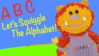 Let's Squiggle the Alphabet - Letters Compilation!