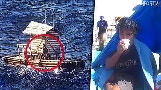 Un joven sobrevivió 49 días a la deriva en una cabaña flotante con tan solo una Biblia