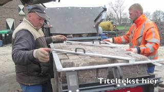 ReStone PU Palletiseer Unit voor machinale herbestrating