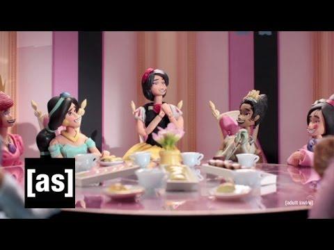 Disney Princess War   Robot Chicken   Adult Swim