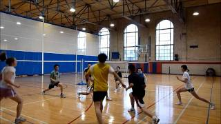 Badminton Chinese Footwork Conditioning [1 of 2]