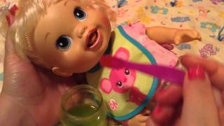 Kids Toys-baby alive baby got new teeth doll talia's feeding and changing