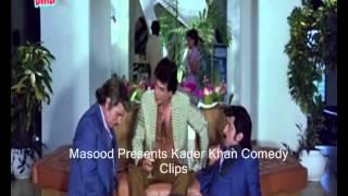kader khan  comedy clips 1