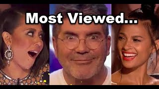 Top 10 MOST VIEWED And UNEXPECTED Auditions In 2017! | Best America's and Britain's Got Talent 2017
