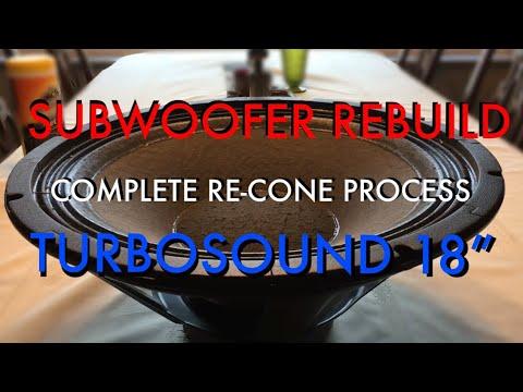 Xxx Mp4 Recone A TurboSound 18 Inch Subwoofer 3gp Sex