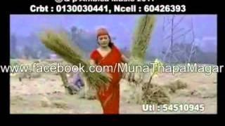 nepali lok dohori song yo mutu timrai ho by muna thapa magar and bimal dangi avi