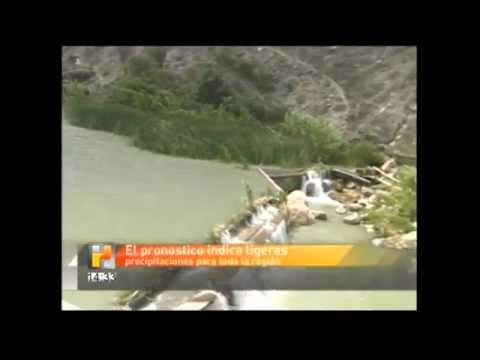 Abren compuerta de la presa de Zimapán tras 11 años