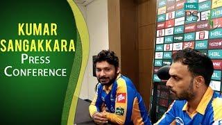 PSL 2017 Playoff 3: Kumar Sangakkara Press Conference