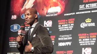 Bernard Hopkins: A lot of people lost their house because they bet against me