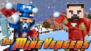 Minecraft MineVengers - CHRISTMAS AT THE MINEVENGERS HQ!!