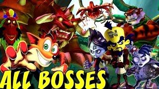 Crash of the Titans - All Bosses (No Damage)