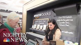 Amazon Opens First New York City Brick-And-Mortar Book Store   NBC Nightly News