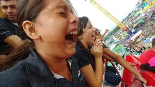 Hoy si casi se mió Nayeli, La Tia Lidia y la Miónica en el barco. Feria Estadio Cuscatlan. Parte 6