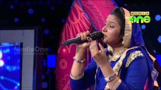 Pathinalam Ravu Season3 Shahaja singing 'Badreengale petta nadu kanan..' (Epi52 Part2)