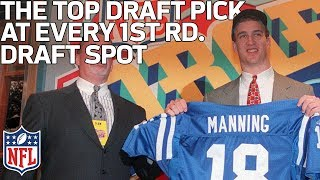 The Top Player Drafted at Every 1st Round Slot (1-32) of All-Time | NFL Draft