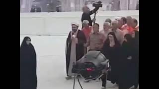 KALLI YANDA YAN. SHI A SUKE DAWAFI A IRAN