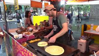 Indian Street Food in London Compilation - Another  Delicious Video to make You feel Hungry!!!!