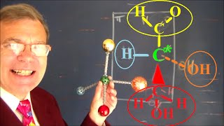 Biochimie : Représentation de Cram des molécules spatiales 3D