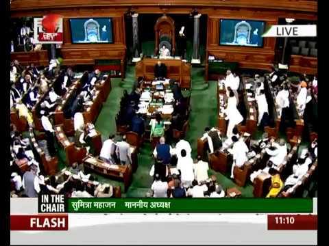 Lok sabha pay tribute to HDH Pramukh Swami Maharaj in Parliament , India