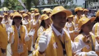 WATCH: Athletes march through Antique for Palarong Pambansa 2017 opening