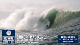Conor Maguire at Mullaghmore - 2017 Billabong Ride of the Year Entry - WSL Big Wave Awards